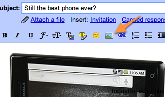 insert images gmail labs