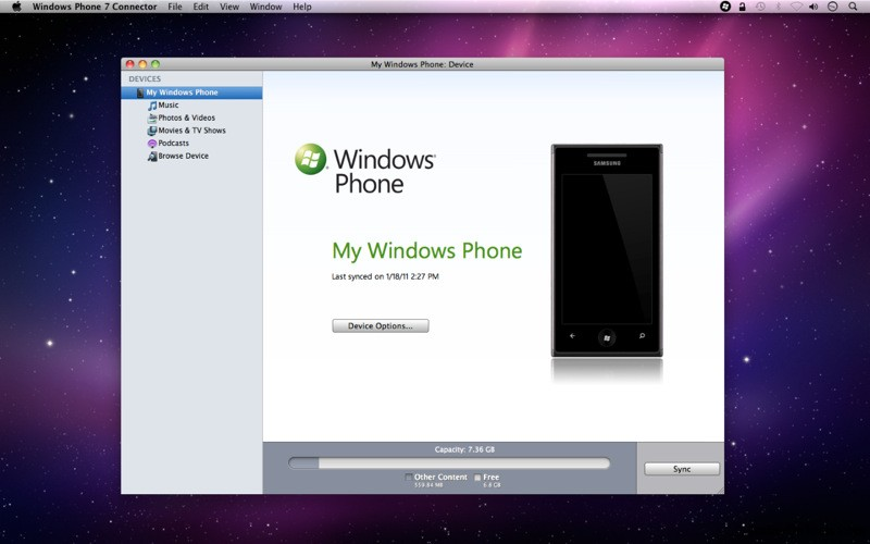 Download Everything Will Be Ok Apple Iphone 7 Hd: How To Sync Windows Phone 7 Mobile With Mac OS X