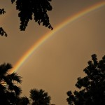 sony ericsson xperia arc rainbow wallpaper