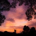 sony ericsson xperia arc sunset wallpaper