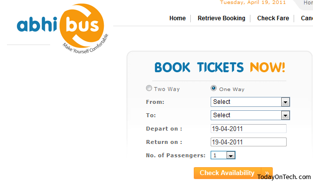 How To Book India Bus Tickets Online Private Amp Govt