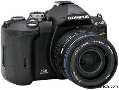 olympus slr camera with ccd