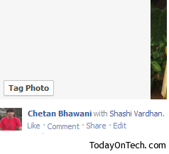new facebook photo viewer tag