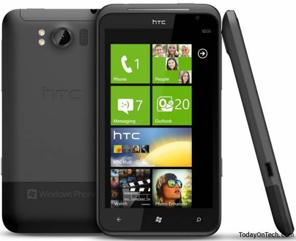 HTC Titan windows phone 7 mango