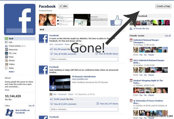 Ticker Facebook