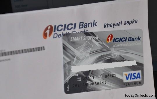 icici bank visa platinum debit card cash withdrawal limit