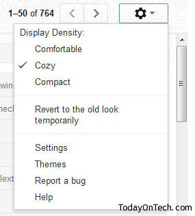 new gmail options