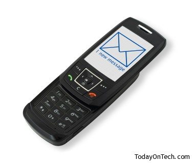 mobile phone with SMS