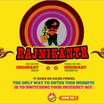 1 rajinikanth website