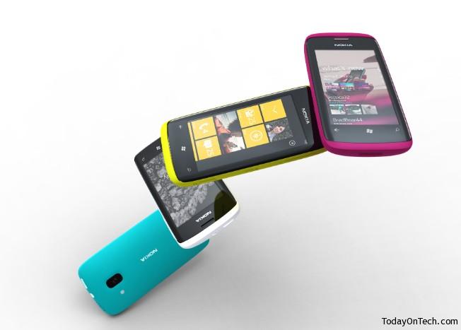 nokia 610 wp phone