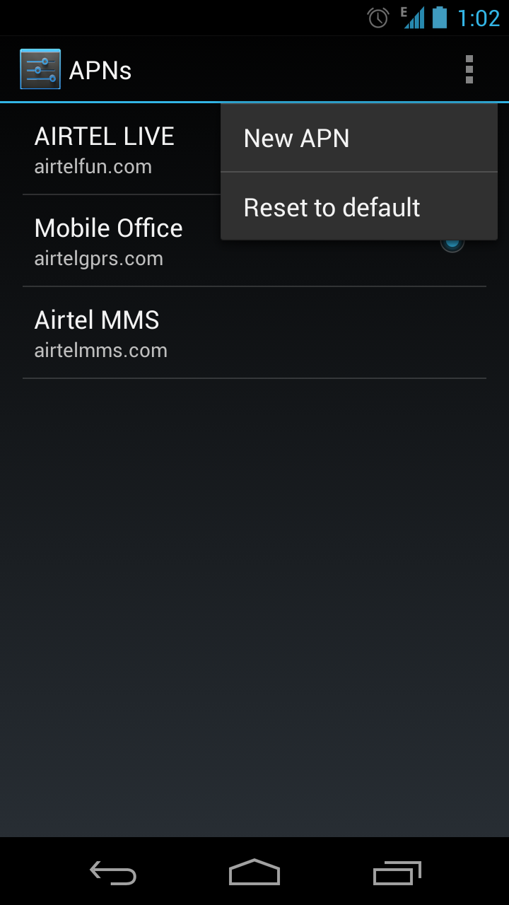 New Option 2015 For Acrylic Nails Style: [Guide] How To Set Mobile Internet APN Settings On Android