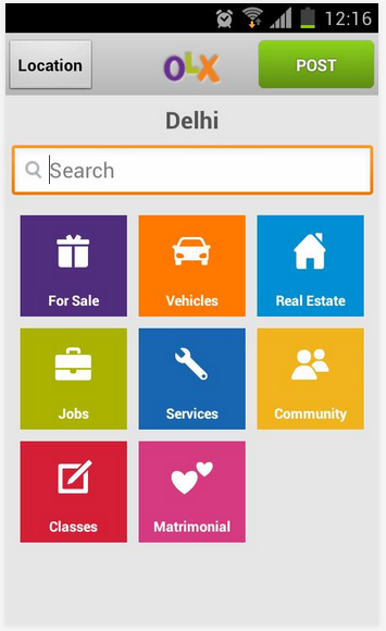 OLX on iOS application on your iPhone, iPod Touch and iPad ...