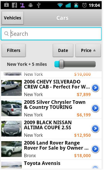 OLX on iOS application on your iPhone, iPod Touch and iPad
