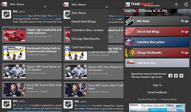 Top best NHL apps for Android | Gadget News