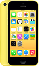 iPhone 5c yellow color