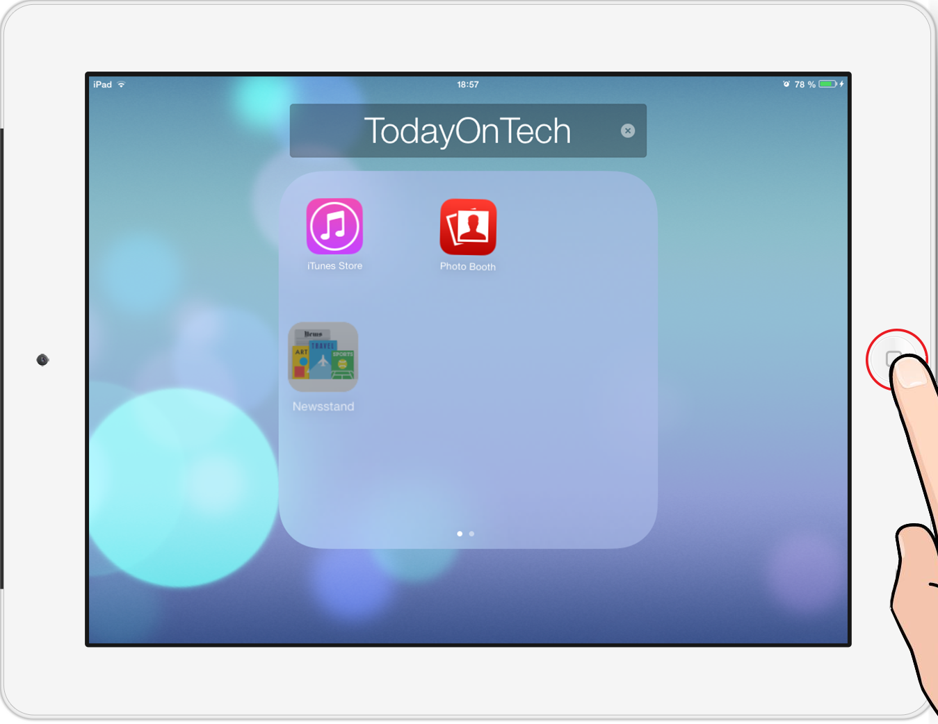 how to put your apps in folders