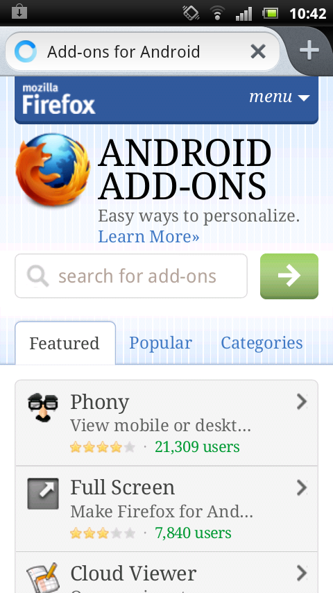 Review: Mozilla Firefox for Android | Gadget News