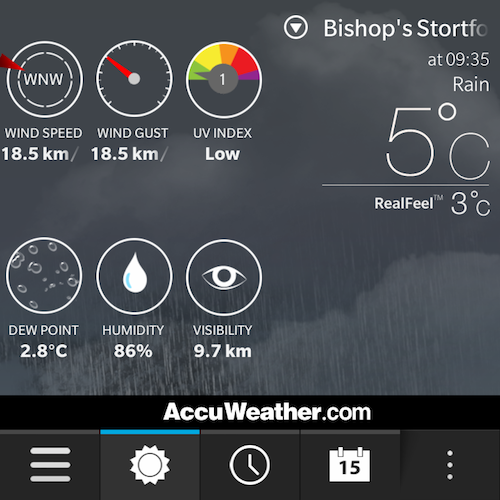 Download Accuweather For Blackberry