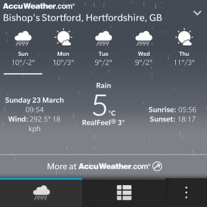 BB Weather