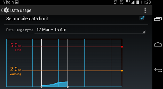 How_to_minimise_data_on_Android