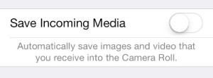 Prevent WhatsApp Saving Pictures