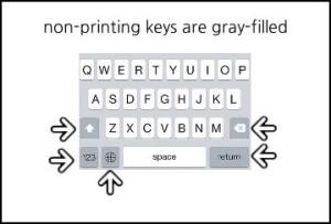 iOS-7.1-Gray-Shift-Key