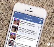 facebook request iphone