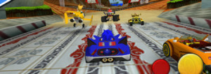 sonic sega racing