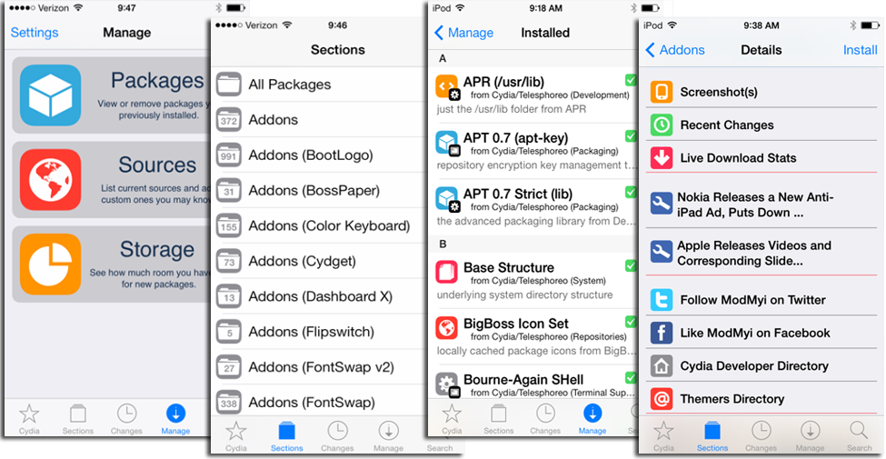 Best Cydia Sources Repos Of 2014 For Ios 7 X Tweaks And Mods Gadget News