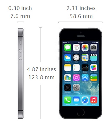 iphone 5s height apple iphone 5s vs iphone 5c what s the difference gadgets 4326
